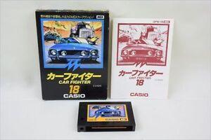 Msx-CAR-FIGHTER-CASIO-18-Video-Game-Import-Japan-3160-msx