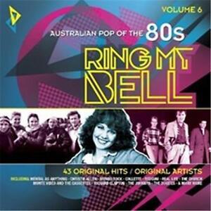 AUSTRALIAN-POP-OF-THE-80s-VOLUME-6-RING-MY-BELL-VARIOUS-ARTISTS-2-CD-NEW