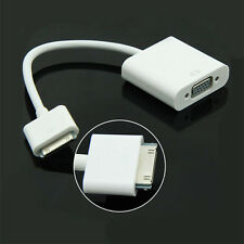 30Pin Dock Connector Male to VGA Adapter Convert Cable For iPad2 3 iPhone 4S JDC