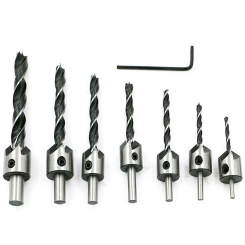 HSS Senkbohrer mit 3 Punkt Schraube Holzbearbeitung 3 10 mm