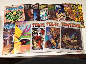 Eastman & Laird's Teenage Mutant Ninja Turtles Lot of 13 Comics #19-34