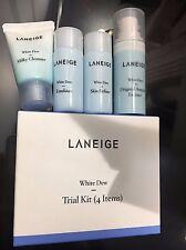 [KOREA MALL]  LANEIGE White Dew Milky Trial Kit 4items /Korea good price/ Sample