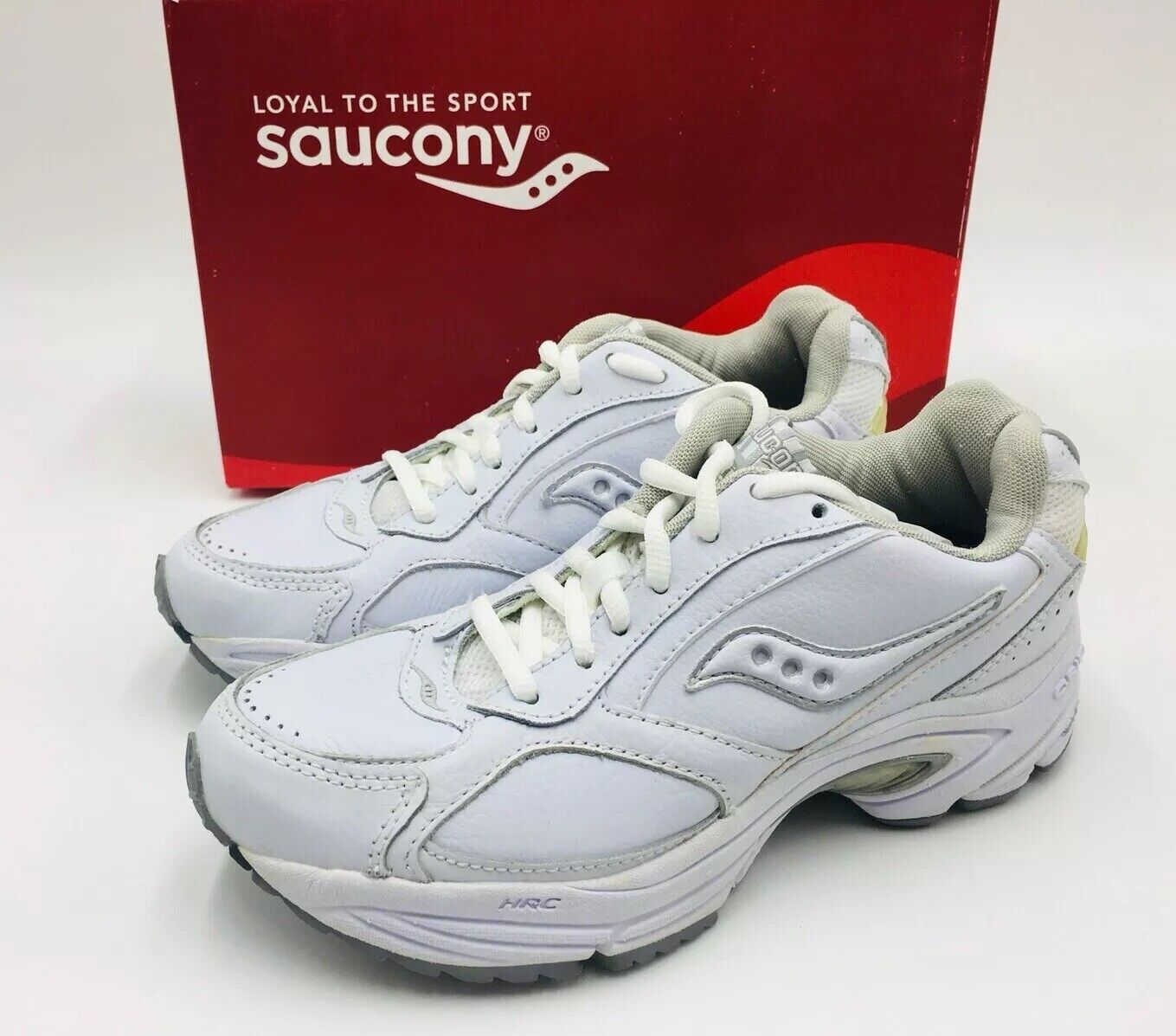 Saucony femmes Grille Tous Walker blanc   Sil chaussures Course Taille 5