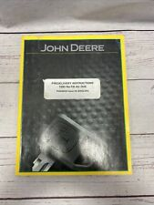 John Deere Predelivery Instructions 1890 No Till Air Drill