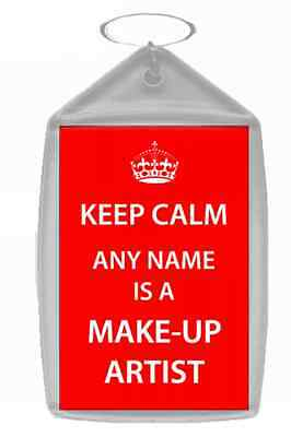 Make-up Artist Personalizzata Keep Calm Portachiavi-