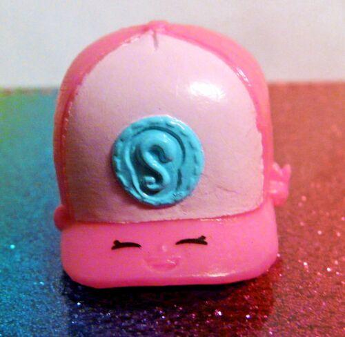 Shopkins CASPER CAP Dark Pink Easter Exclusive Mint OOP