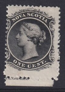 NOVA SCOTIA 1860-63 MINT NH #8, QUEEN VICTORIA !! 08J