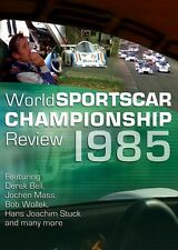 World Sportscar Championship Review 1985 (New DVD) Bell Mass Wollek Stuck