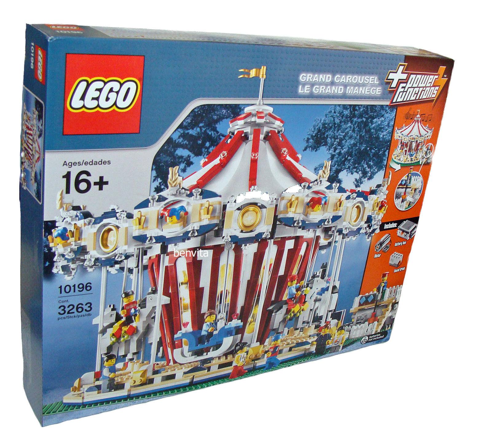 LEGO ® 10196-grande Carrousel GRAND Carousel 3263 pezzi 16+ - NUOVO