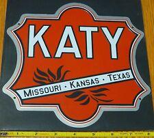 Microscale Metal Sign #10029 Katy (Missouri . Kansas . Texas) (Die Cut, Embossed