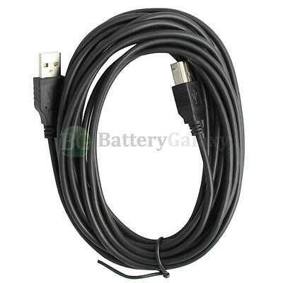 15ft USB 2.0 Extension /& 10ft A Male//B Male Cable for Epson Stylus NX215 All-in-One Printer