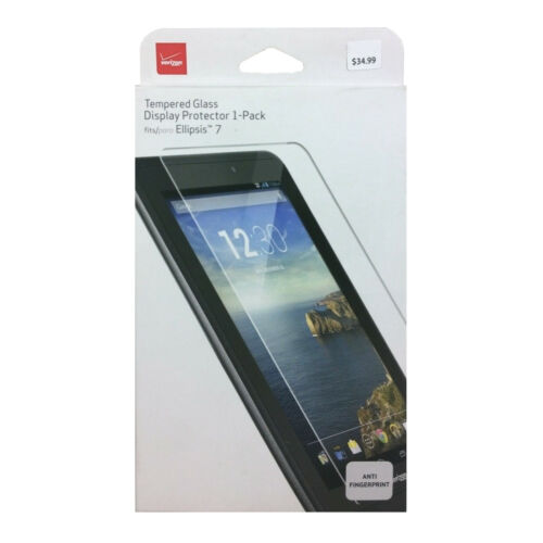 Verizon Tempered Glass Screen Protector For Verizon Ellipsis 7 Lot Of 10
