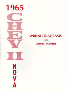 1965 nova chevy ii wiring diagram manual ebay 1965 corvair wiring diagram image is loading 1965 nova chevy ii wiring diagram manual