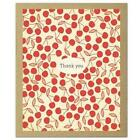 Cherry Pie Thank You Notecards by The Comstocks Stationery