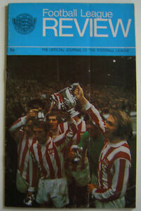 LEAGUE FOOTBALL REVIEW MAGAZINE 197172  PORTSMOUTH STOKE CITY LEAGUE CUP - <span itemprop='availableAtOrFrom'>Rugby, United Kingdom</span> - LEAGUE FOOTBALL REVIEW MAGAZINE 197172  PORTSMOUTH STOKE CITY LEAGUE CUP - Rugby, United Kingdom