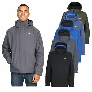 Trespass-Edwards-Mens-Lightweight-Waterproof-Jacket-Blue-Grey-Black-Green