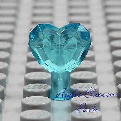 LEGO 4 1x1 Jewel Heart Pink Blue Boy Girl Gem Crystal Diamond NEW