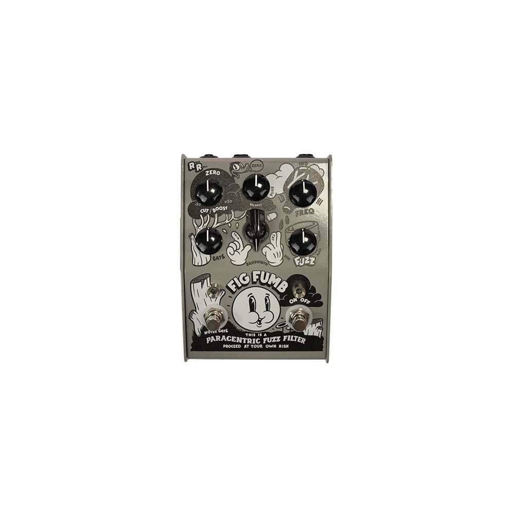 Stone Deaf Fig Fumb Parametric Fuzz Pedal with Noise Gate - Brand New