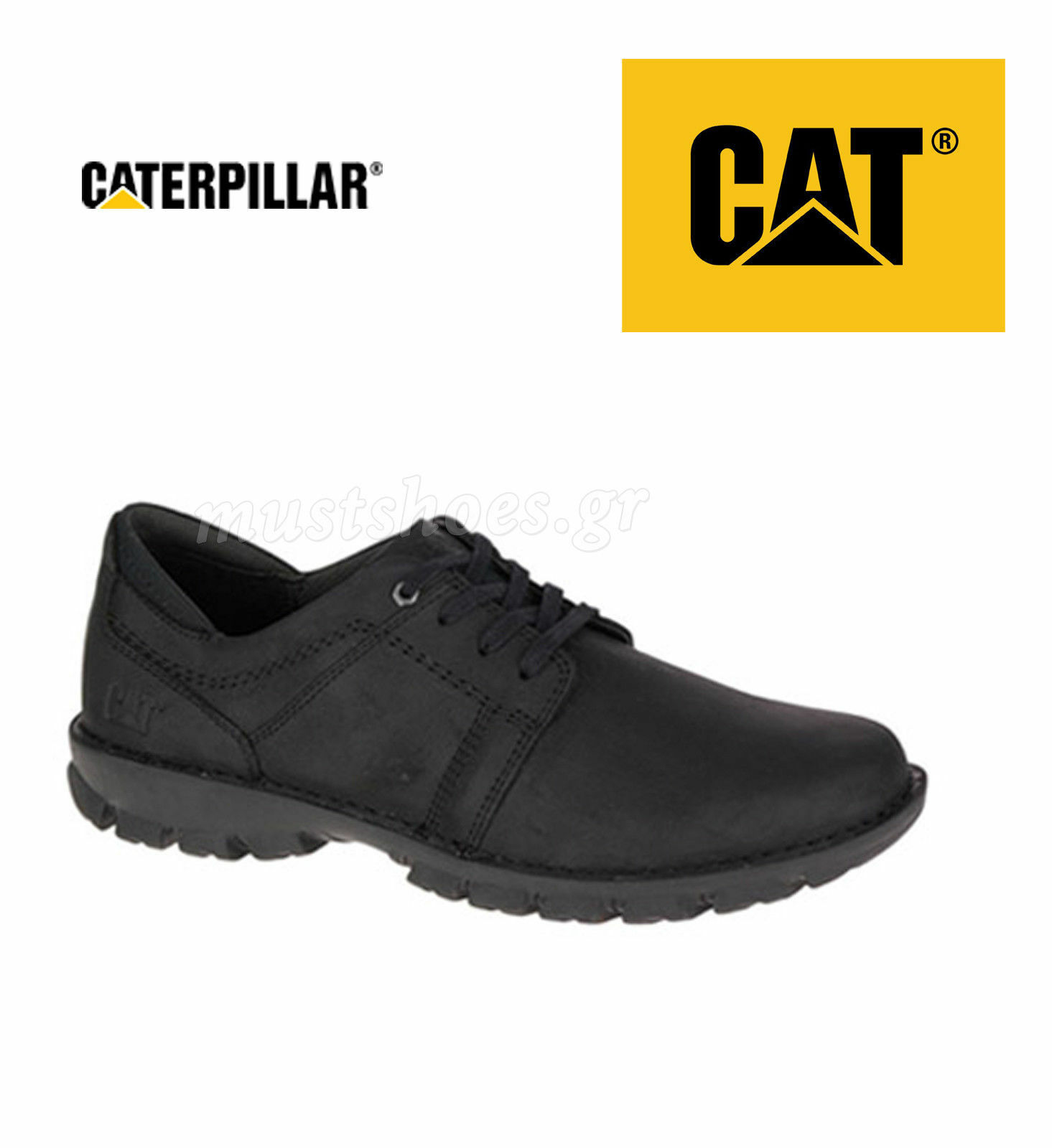 CATERPILLAR CAT 721553 CADEN BLACK EU 40, 41, 42, 43, 44, 45, 46