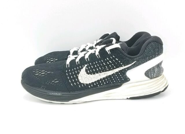 size 40 b0618 f3601 Nike Lunarglide 7 Mens Running Shoes 8 Black 747355 001