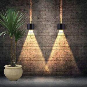 12W-LED-Wandlampe-Wandleuchte-LED-Aussenlampe-Aussenwandlampe-Terrasse-Veranda-DHL