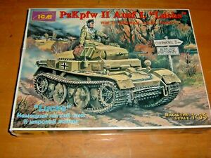 Academy 1//35 Pz.Kpfw.II Luchs Ausf.L German Scout Tank model kit #13526/_MHJU M