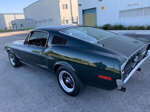 1968 Ford Mustang Fastback Bullitt Tributo Veja O Video Ebay