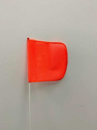 Hex base FS5 Heavy Duty 5/' Warning Whip Orange Safety Flag