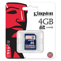 Kingston 4gb Sd Video Picture Memory Card - M80/m100/d55ir Trail Game Cameras