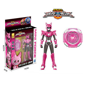 Miniforce Lucy Pink Action Figure Set Mini Force Super Ranger Birthday Toy Ebay