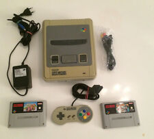 SNES Super Nintendo 1 Chip Version + Super Mario Kart & Super Mario All Stars