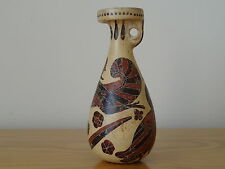 COMPLETE-Antica Antico greco corinzio Pottery Alabastron VASO-in buonissima condizione