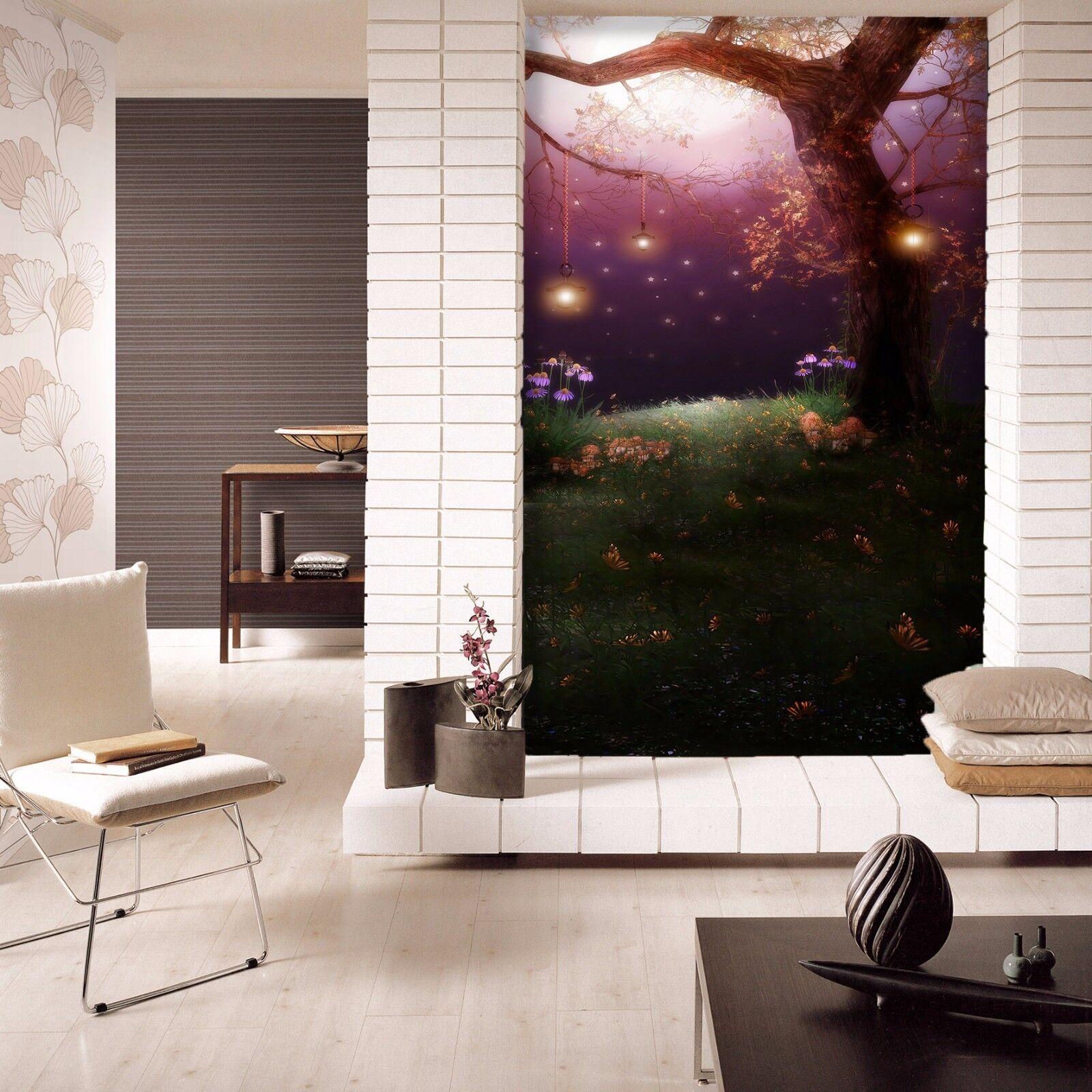 3D Trunk Light 53 Wallpaper Murals Wall Print Wallpaper Mural AJ WALL AU Kyra