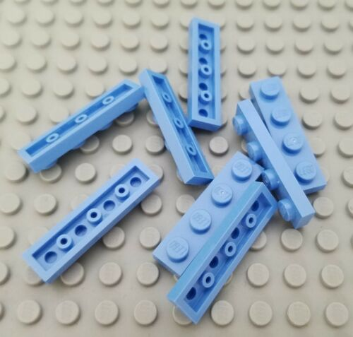 New LEGO Lot of 8 Medium Blue 1x4 Building Plate Pieces