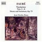 Gabriel Faure - Fauré: Nocturnes Nos. 1-6; Theme & Variations, Op. 73 (1994)