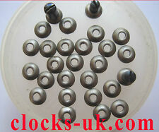 CARRIAGE CLOCK PLATFORM WASHERS, french clock hands levers washers, etc