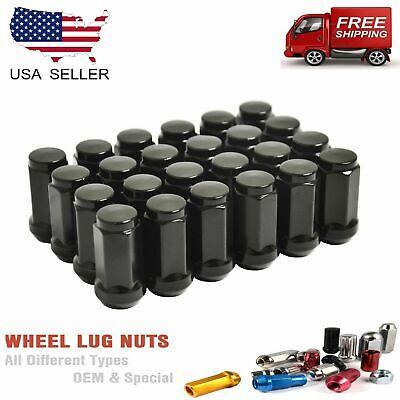 "Lug Nuts Bulge Acorn Dodge Ford Chevy 9//16/"" 50 Pcs XL"