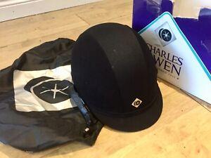 New-Charles-Owen-V8-Riding-Hat-Helmet-PAS015-ASTM-F1163-15-Size-7-1-8-or-58