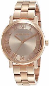 Michael-Kors-Women-039-s-Norie-Rose-Gold-Tone-Watch-MK3561