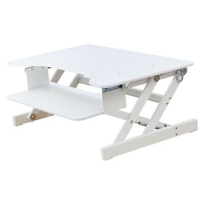New Rocelco Adr W Sit Stand Desk Adjustable Height
