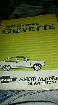 1977 Chevrolet Corvette Camaro Nova Vega Chevette Monte Carlo Wiring Diagrams Car Manuals Literature Other Car Manuals