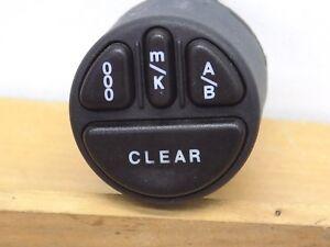 Details about 2001 Jaguar XJ8 Parts Dash Odometer Trip Reset Switch 98 99  01 02