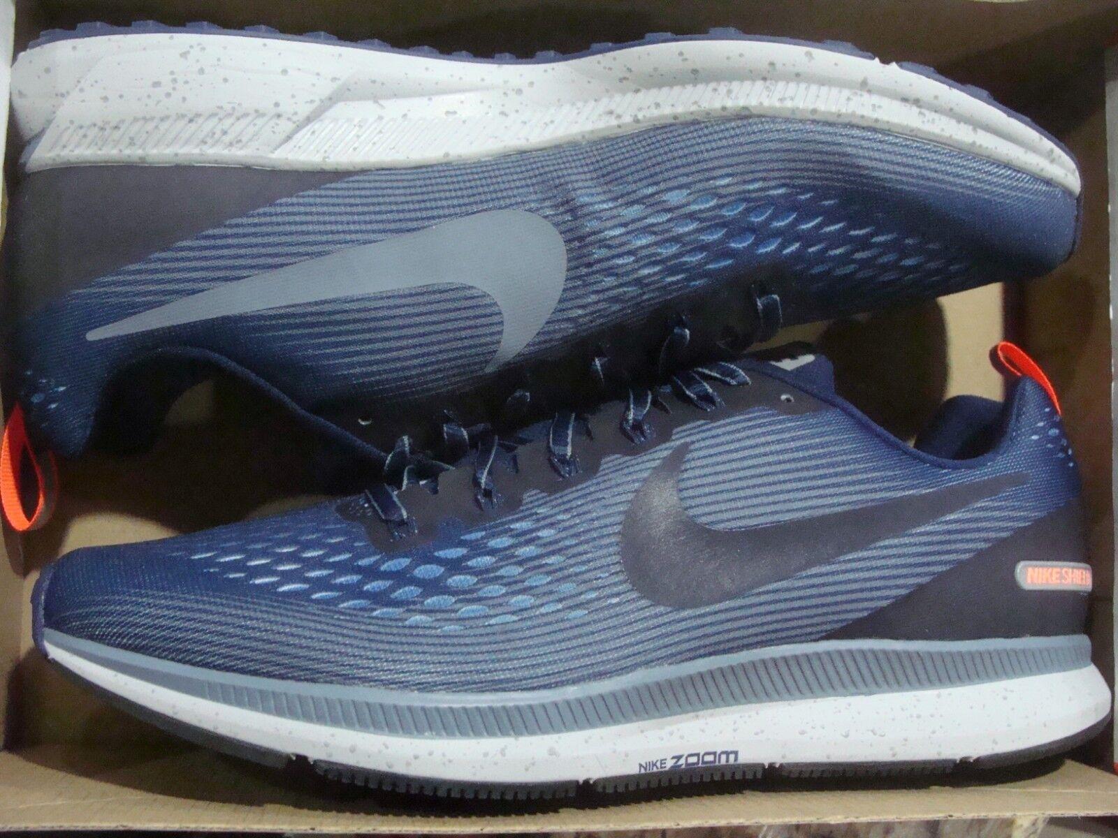 Men's Nike Air Zoom Pegasus 34 Shield 907327 400 Size 11.5