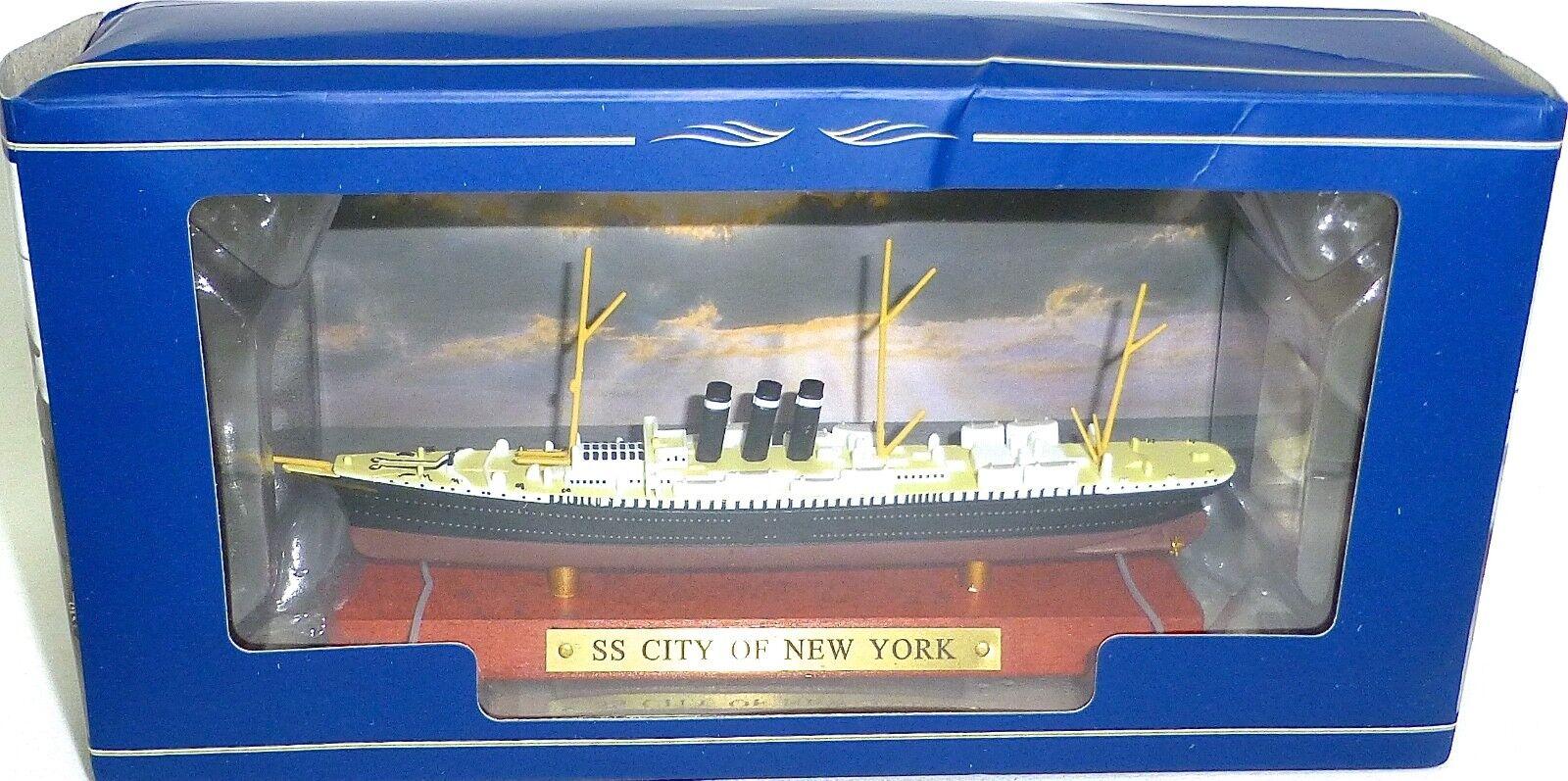 SS City of New York Neuf Dans Box 1 1250 Nouveau neuf dans sa boîte Atlas 7572011 ua1 µg