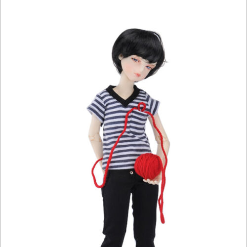 Striped V freeze in Tshirts A1 Dollmore 1//4 BJD doll clothes  SIZE MSD