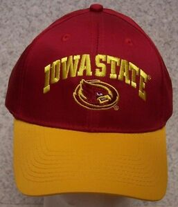 premium selection 4dbea 60e8b ... coupon code for image is loading embroidered baseball cap ncaa iowa  state cyclones new 61692 d8c65