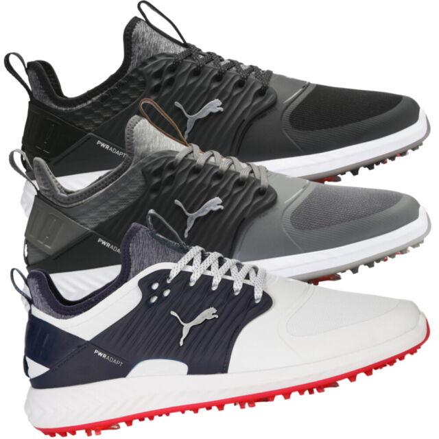 2017 Puma Titantour Ignite Disc Golf Shoes 10 5 White Black For Sale Online Ebay