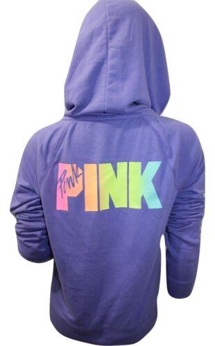 Full Purple Secret Zip Nwt cappuccio Perfect Zip Xsmall Full 667541892428 Felpa di Pink Victoria's con wpZEqOzTxf