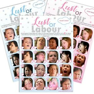 LUST-OR-LABOUR-Baby-Shower-Game-20-Players-Party-Boy-Blue-Girl-Pink-Unisex
