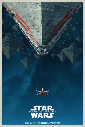 Art Silk Poster Star Wars Movie 2019 27x40 24x36 20x30 The Rise of Skywalker 872
